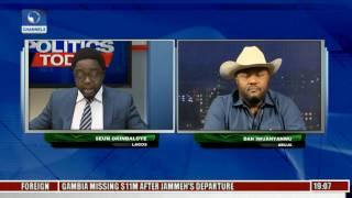 Politics Today: Iwuanyanwu Backs Buhari's Choice Of Magu On Anti Corruption War Pt 2