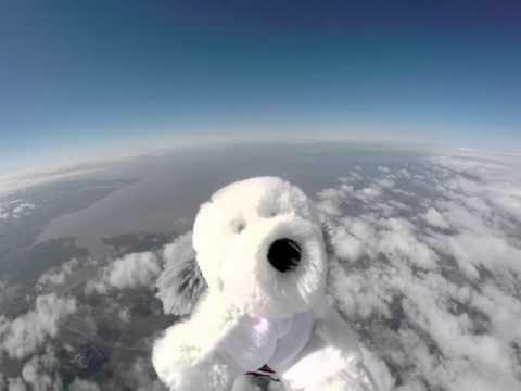 Lancashire Schoolkids Send Sam the Dog Into Stratosphere