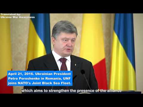 Poroshenko announces Ukrainian Navy Joins NATO's Joint Black Sea Fleet
