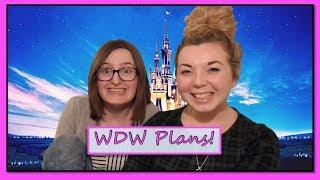 Our Walt Disney World Plans!