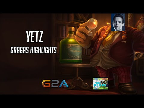 Yetz | Gragas Highlights | BR SoloQueue | 1080p60fps