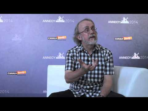 Annecy 2014  - Interview Peter LORD - Aardman Animations