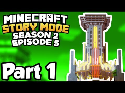 Minecraft: Story Mode Season 2 [Episode 5] Part 1 - RETURN TO THE NEW BEACONTOWN!!! (Full Gameplay)