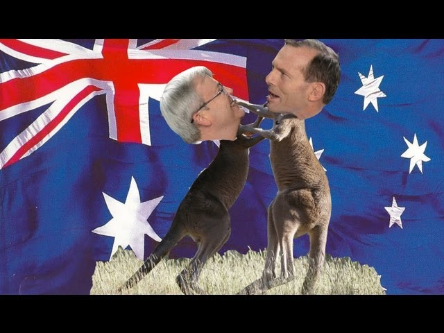 Australian election 2013: Kevin Rudd vs Tony Abbott in final countdown