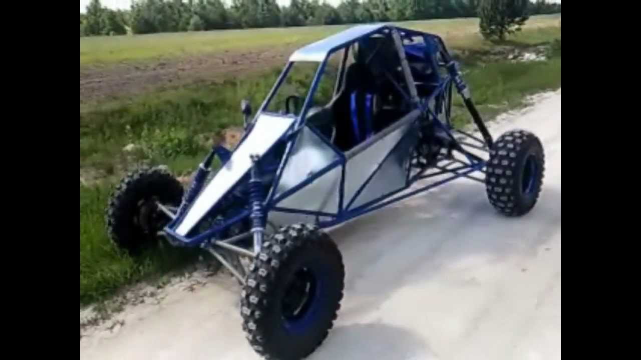 BUGGY BARRACUDA YAMAHA R1 II - YouTube