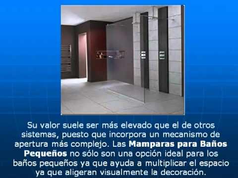 Mamparas para ba os peque os modelos de casas modernas for Modelos de puertas para casas modernas