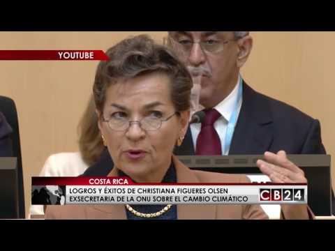 Logros y éxitos de Christiana Figueres Olsen ex secretaria de Naciones Unidas