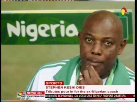 Ex-Nigerian coach Stephen Keshi goes home - 8/6/2016