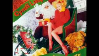 Watch Cyndi Lauper Christmas Conga video