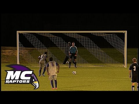 Highlights: Raptors Men's Soccer vs College of Southern Maryland, September 16, 2014