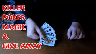 Card Tricks | Killer Poker Hand | Giveaway