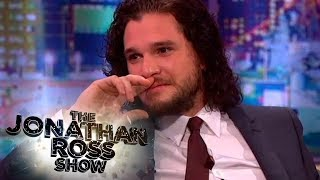 Kit Harington On Game Of Thrones Deaths, Rubber Bands and Bodily Fluids - The Jonathan Ross Show