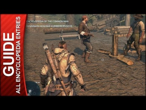 Assassin's Creed 3 Walkthrough - All Encyclopedia of the Common Man Locations