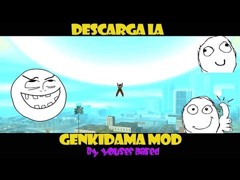 Descarga La Genkidama De Goku Para Gta San Andreas HD