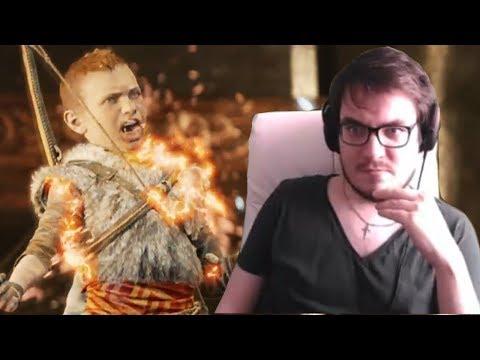 Мэддисон играет в God Of War - ФИНАЛ