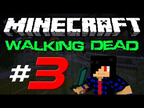 Minecraft: The Walking Dead Survival! Episode 3 - Traveling at Night