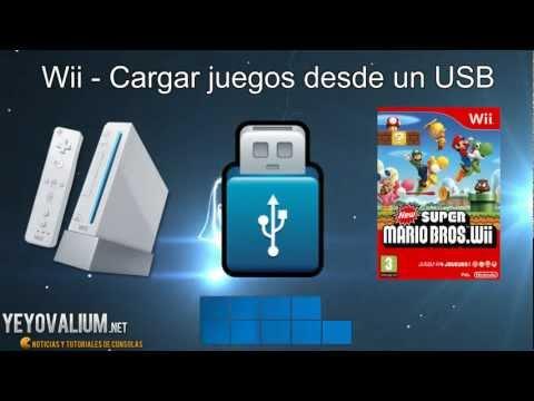 Wii - Cargar juegos con USB o disco duro externo