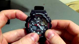 How To: Change the time and date on a G-shock (5081) watch