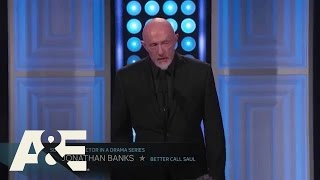 Jonathan Banks Wins Best Supporting Actor in a Drama Series = 2015 Critics' Choice TV Awards   A&E
