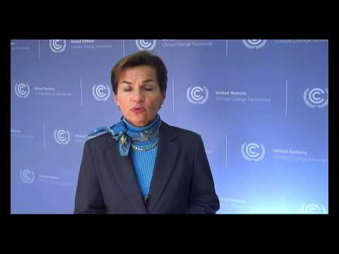 UNFCCC Executive Secretary Christiana Figueres emphasizes the key role cities play in climate action