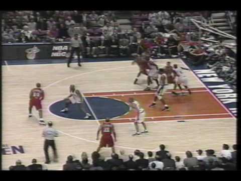 Miami Heat vs NY Knicks game 3 1997 playoffs part 1 of 11
