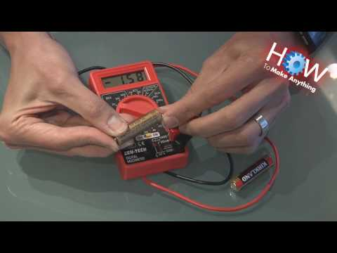How to Use a Multimeter as Battery Tester