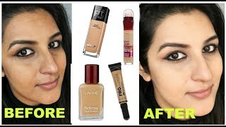 कैसे लगाएं फाऊंडेशन और कन्सीलर | How to Apply Foundation & Concealer Indian skin tone