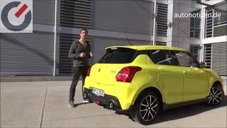 Suzuki Swift Sport 2019 103 kW / 140 PS Alltagstest, Fahrbericht, Review