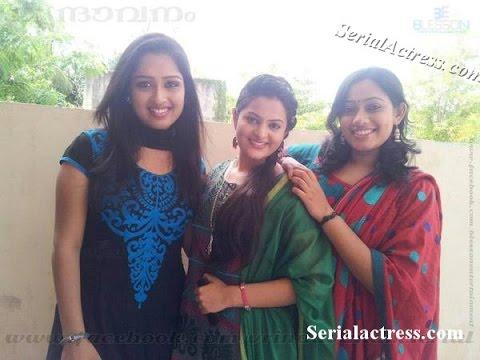 Malayalam Serial Actress Photos video