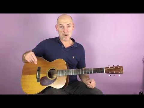 Buffalo Springfield - For what it's worth - Guitar lesson by Joe Murphy