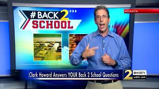 RAW: Clark Howard answers your questions about Back 2 School