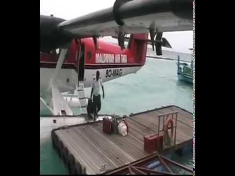 Trip Male to Veligandu in a Seaplane