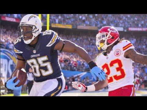 The San Diego Chargers vs Kansas City Chiefs 2013 matchup fell right into place for Mike McCoy's club, beating the 2nd string Chiefs 27-24. Two plays that we...