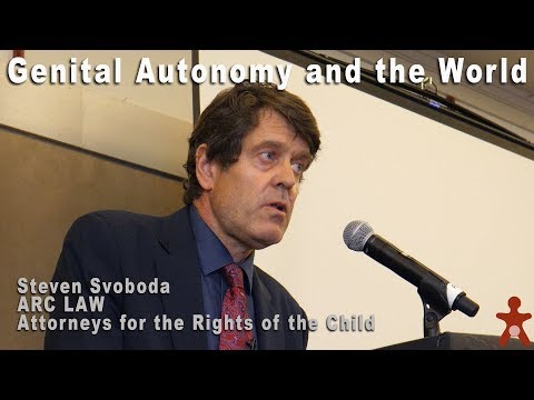 Genital Autonomy and the World - Steven Svoboda thumbnail