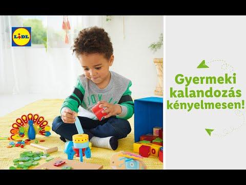 Kisgyermek divat és játék 08.29-től | Lidl