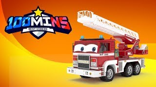 appMink Fire Truck | Kids Learn to Count ft Monster Truck | Cars Racing | Old McDonald had a Farm