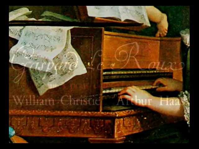 Gaspard Le Roux / W. Christie / A. Haas, 1977: Suite II in D Major for Two Harpsichords