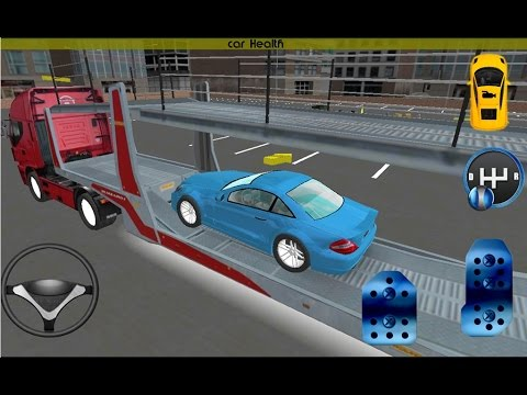Truck Parking: Car Transporter - Android Gameplay HD