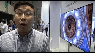 "LG Display shows 8K 31.5"", Wallpaper OLED, pOLED, Transparent OLED, 4K bezel-less and more"