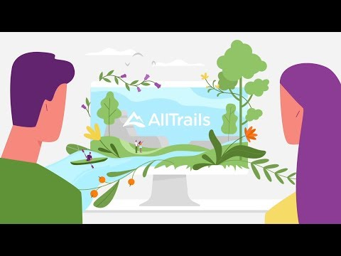 AllTrails - Hiking, Trail Running & Biking Trails APK Cover