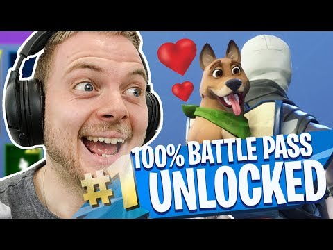 UNLOCKING ALL 100 TIER in SEASON 6!! - Fortnite Battle Royale!