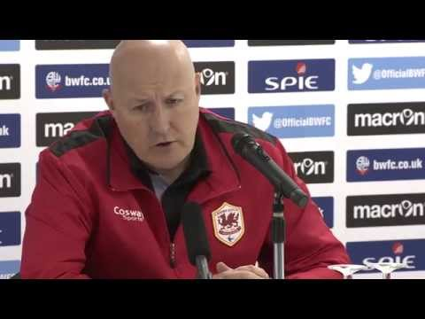 Russell Slade Bolton reaction
