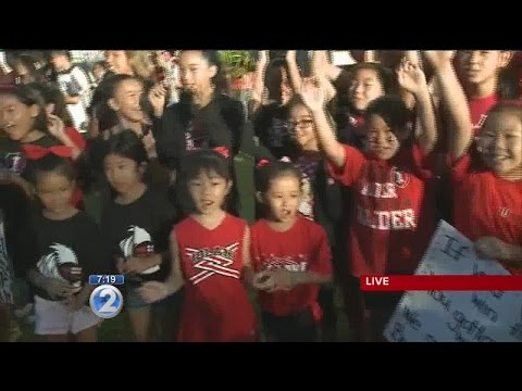 Iolani School celebrates Homecoming Week: Fire Up Friday