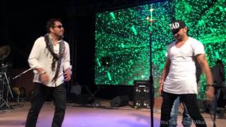 Mika Singh & Yo Yo Honey Singh Enjoying on Stage