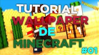Tutorial #01 - Como Fazer Um Wallpaper De Minecraft Simples (C4D)