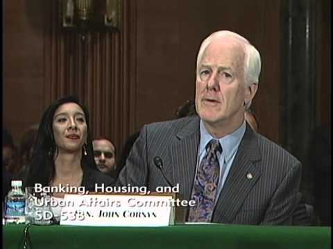Cornyn Introduces Mayor Julian Castro at Confirmation Hearing