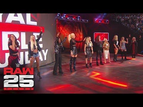 WWE honors female WWE Legends: Raw 25, Jan. 22, 2018
