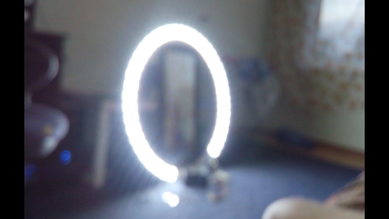 Кольцевая свет своими руками 79