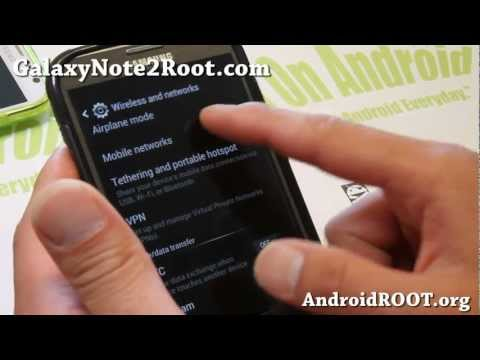 How to Enable T-Mobile 3G/4G AWS Bands on AT&T Galaxy Note 2 SGH-i317!