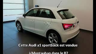 Audi a1 sportback occasion visible à Montauban présentée par Jpr automobiles